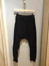 Nelly Johansson Black Corduroy Trousers, Size 1