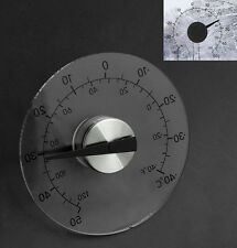 Clear ℉ ℃ Circular Outdoor Window Temperature Thermometer Weather Tool