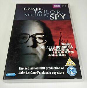 TINKER,TAILOR,SOLDIER,SPY - USED REGION 2 EURO DVD (2 DISC SET)