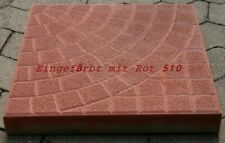 Rot Oxidpigment 1 kg - Pulverfarbe Betonfarbe Eisenoxid