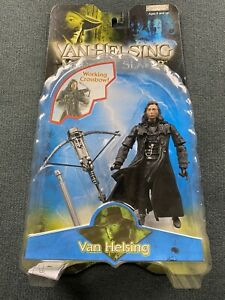 JAKKS Pacific Van Helsing Monster Slayer Van Helsing Figure 2004 Like New!