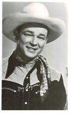 RPPC,Roy Rogers,c.1945-50s