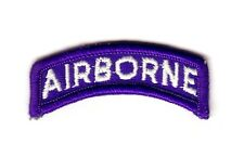 """AIRBORNE """"Tab"""" Blue / White (Fabrication Actuelle)"""
