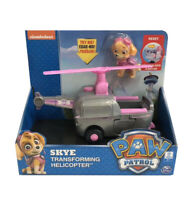 nickelodeon PAW Patrol Dog Skye Transforming Helicopter Model Vehicles Car Toy