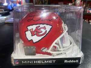 Damien Williams Kansas City Chiefs Mini Helmet-JSA COA NIB