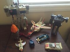 G1 Transformers Lot: Metroplex, Jetfire, Shockwave, Red Alert, Mirage, Pipes...