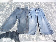 BUNDLE OF 2 QUANTITY 2-T BLUE JEANS WRANGLER & OLD NAVY STYLISH RIPS & STONE WAS