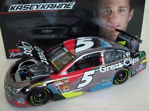 Kasey Kahne 2014 Great Clips #5 Brilliant Color Chrome 1/24 NASCAR Diecast 1of96