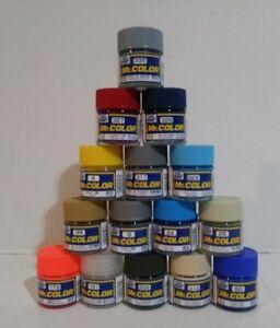 Gunze Sangyo Mr Color acrylic paint 15pcs bundle