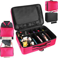 Makeup Bags Professional Cosmetic Case Portable Travel Kit Large Organizer 16 in