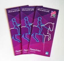 Juegos Olímpicos de Londres 2012-paralímpico ecuestre de los Juegos Olímpicos espectador guías