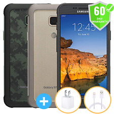 Samsung Galaxy S7 Active G891A 32Gb At&T + Gsm Unlocked T-Mobile Green Gold Gray