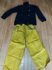 More details for kent fire brigade  tunic and leggings 1980's issue