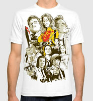 Tarantino All Movies Men's Women's Art T-shirt Pulp Fiction Kill Bill Tee