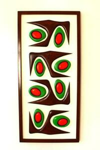 Mid-century modern wall sculpture - 1950's atomic design