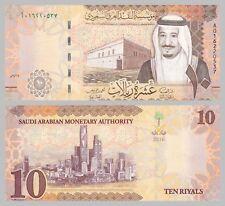Saudi-Arabien / Saudi-Arabia 10 Riyals 2016 p39a unz.