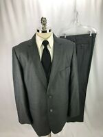 Wilke Rodrigues Men's Gray 3 Piece Suit 46L 41 x 34