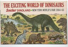 GORILLAS DON'T BLOG: Sinclair Dinoland, 1964