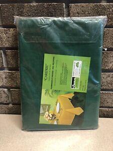 Linen Tablecloth Bardwil Dupont Dacron Green Carefree 60 X 84 Vintage