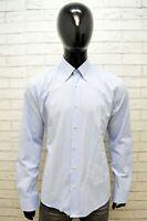 Camicia Uomo Valentino Taglia 2XL Slim Maglia Polo Shirt Cotone Hemd Camisa