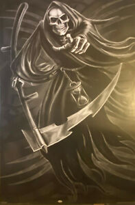 GRIM REAPER POSTER Scarry Death RARE HOT NEW 24X36