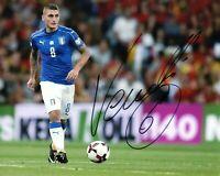 Foto Autografo Calcio Marco Verratti Asta di Beneficenza Soccer Sport Signed