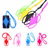 2X Silicone Lanyard Case Cover Holder Sling Necklace Wrist Strap For Cell Phone