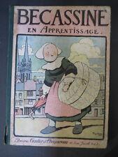 Ancienne BD Bécassine en apprentissage 1926 La semaine de Suzette old child book