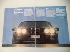advertising Pubblicità 1985 BMW 324 D