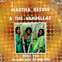 """BLESS YOU MARTHA REEVES & THE VANDELLAS  7"""" MEGARARE PS ITALY Mint  1972 MOTOWN"""