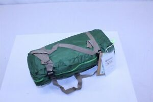 Back Packing Tent 1 - 2 Person Green Double Layer with Aluminum Rod 4lb Weight