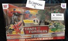 Transformers The Ultimate Battle Optimus Prime vs Megatron w/ Exclusive Dvd