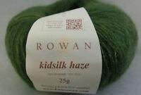 (55,80 €/100 g): 25 g Rowan KIDSILK HAZE, Farbe Sh 651 grün Lot 9594   #3677