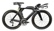 Cervelo P5 Ultegra Di2 2x 11s Carbon Triathlon Bike 48cm Black Shimano 2018 TT