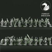 Forest Dragon Impressions 3D Wood Elves- Rangers-Echelle 10MM