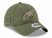 Philadelphia Eagles New Era NFL 2018 Salute to Service 9Twenty Strapback Hat