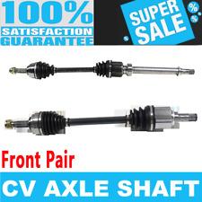 2x Front CV Axle Shaft for CUBE 09-12 VERSA 07-12 L4 1.8L Standard Transmission