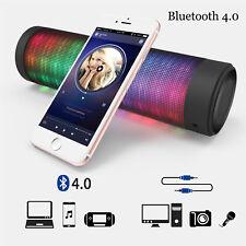 Portable Bluetooth Speaker Wireless Hi-Fi Stereo Sound Outdoor USB Battery LED