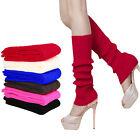 Women Winter Warm Knit Crochet Slouch High Knee Leg Warmers Leggings Boot Socks