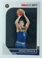 2019-20 Panini NBA Hoops Michael Porter Jr. Rookie RC #51, Denver Nuggets