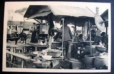 VIETNAM SAIGON early view OUTDOOR DINING - STREET RESTAURANT ANNAMITE
