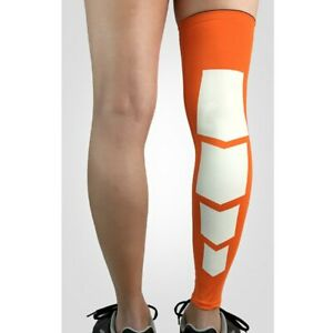 Men Sport Over Knee Leg Socks Sleeve Support Pad Basketball Running Protector