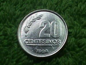 URUGUAY   20 Centesimos   1994   UNC  **
