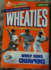 New York Yankees Wheaties Box World Series Champs