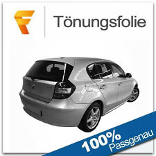 Passgenaue Tönungsfolie BMW 1er E87 / 5 Türer Bj 2004-2011