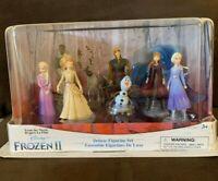 Disney Store Frozen II Deluxe Figure Play set New