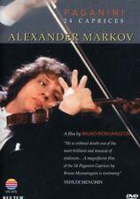 Alexander Markov: Paganini's 24 Caprices [New DVD] Subtitled