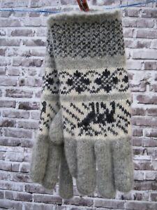 Women's GLOVES  winter 100% SHEEP WOOL merino HOMEMADE Russian craft warm soft