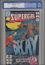 Supergirl, Daring adventures of  #3 CGC 9.6 1983 DC  Comic: Lois Lane Story too