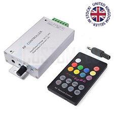 18 Key Music Sensor RG Led Controller W/ Rf Remote Control Dc 12V-24V